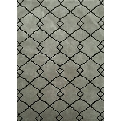 Thornsberry Gray Area Rug Rug Size: 711 x 910