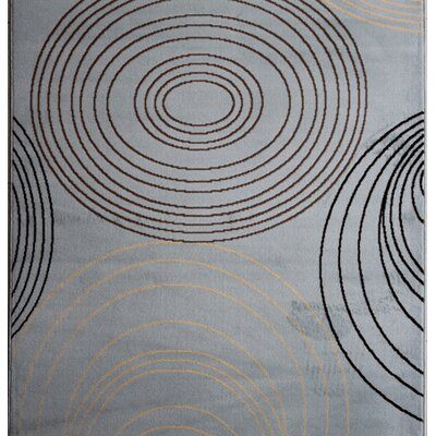 Aunesty Blue Area Rug Rug Size: Runner 2 x 72