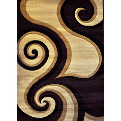 Hartmann Brown Area Rug Rug Size: Rectangle 4 x 6