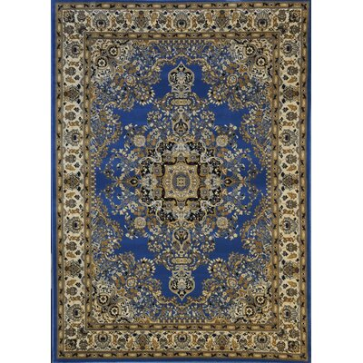 Redbridge Light Blue Area Rug Rug Size: 53 x 72