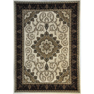Aldgate Ivory Area Rug Rug Size: Rectangle 53 x 72