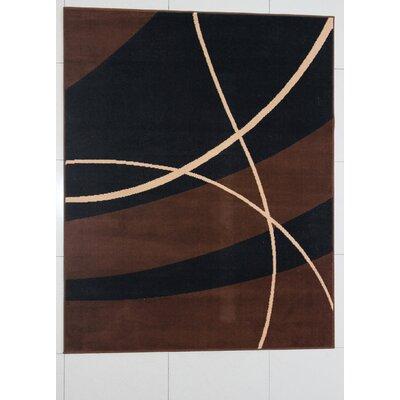 Shanlee Black Area Rug Rug Size: 711 x 910