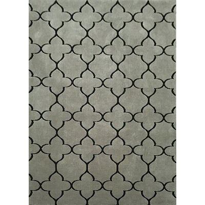 Catana Gray Area Rug Rug Size: 53 x 72