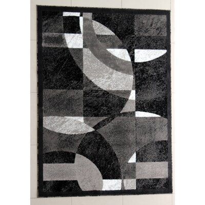 Magee Dark Gray Area Rug Rug Size: Runner 27 x 91