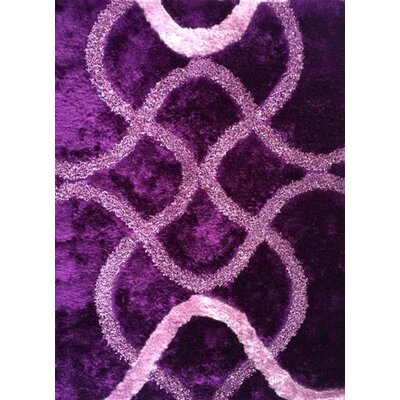 Heriberto Purple Area Rug