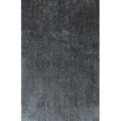 Dogwood Dark Gray Area Rug Rug Size: 53 x 72