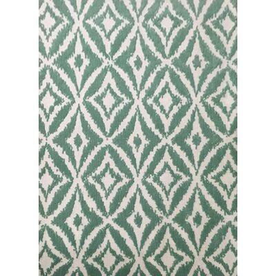 Blalock Turquoise Area Rug Rug Size: 53 x 72