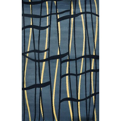JMill Light Blue Area Rug Rug Size: Runner 27 x 91