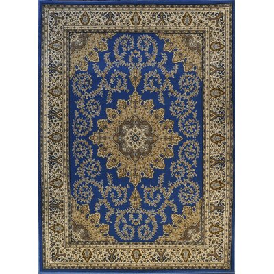 Pentwater Light Blue Area Rug Rug Size: Runner 27 x 910