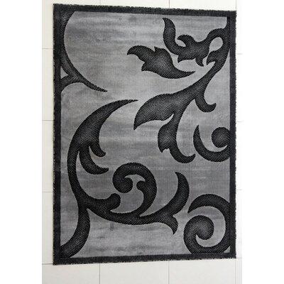 Tammie Dark Gray Area Rug Rug Size: Runner 27 x 91