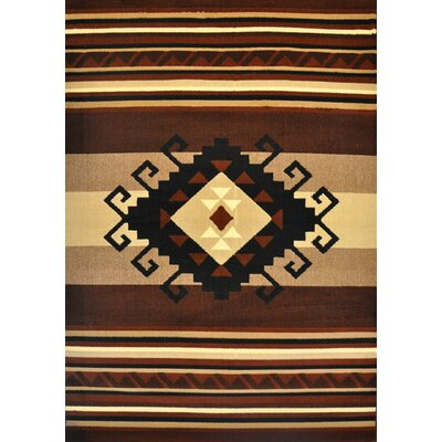 Doyle Brown Area Rug Rug Size: Runner 2 x 72