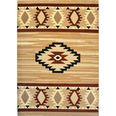 Elspeth Berber Area Rug Rug Size: 53 x 72