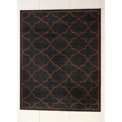 Buckler Black Area Rug Rug Size: Runner 2 x 72