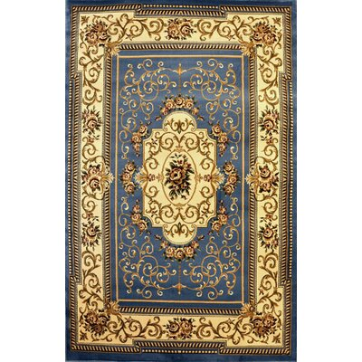 Presidio Light Blue Area Rug Rug Size: 2 x 3