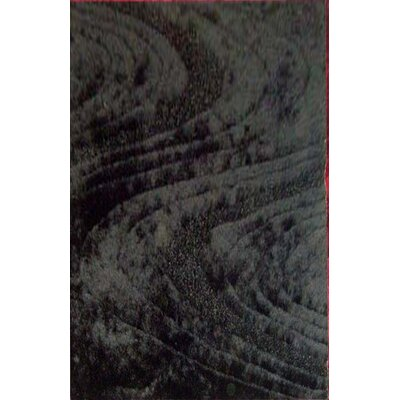 Jeanenia Black Area Rug