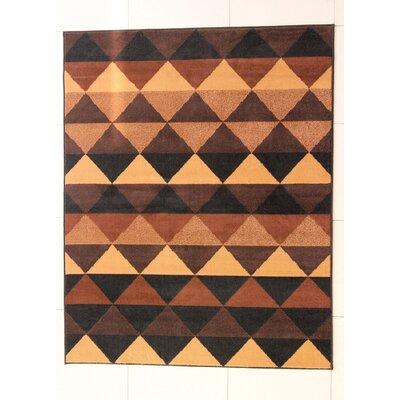 Henry Black Area Rug Rug Size: 711 x 910