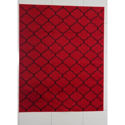 Hartsburg Red Area Rug Rug Size: Runner 2 x 72