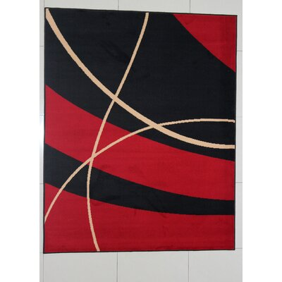Padminie Black Area Rug Rug Size: Runner 2 x 72