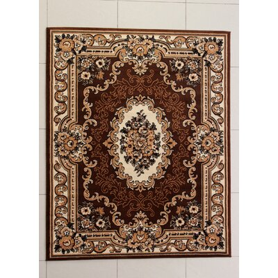Abrahamson Brown Area Rug Rug Size: Runner 2 x 72