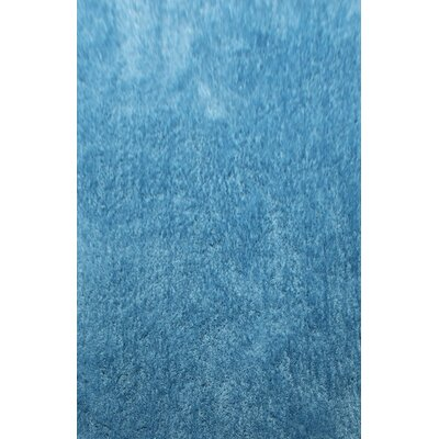 Doagh Light Blue Area Rug Rug Size: 53 x 72
