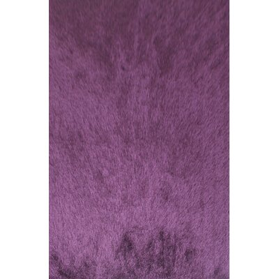 Dickerson Purple Area Rug Rug Size: 53 x 72