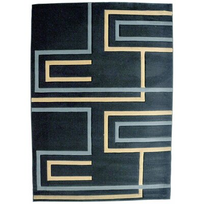 Sua Dark Blue Area Rug Rug Size: Runner 27 x 910