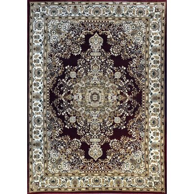 Petoskey Burgundy Area Rug Rug Size: Rectangle 66 x 99