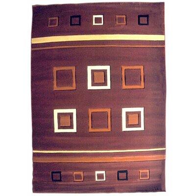 Geri Burgundy Area Rug Rug Size: 2 x 3