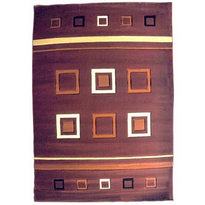 Geri Burgundy Area Rug Rug Size: Runner 27 x 146