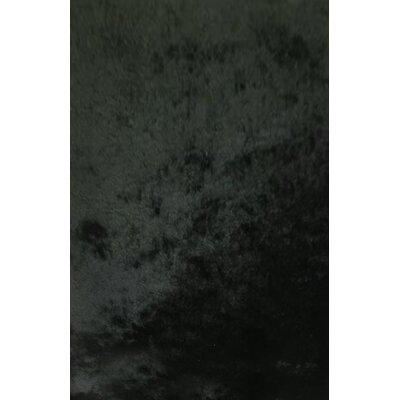 Orna Black Area Rug Rug Size: 10 x 13