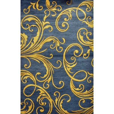 Peavey Light Blue Area Rug Rug Size: Runner 2 x 72