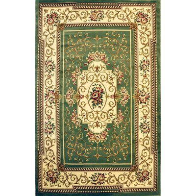 Posen Sage Area Rug Rug Size: Rectangle 3 x 5