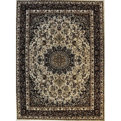 Pilarcitos Ivory Area Rug Rug Size: Rectangle 53 x 72