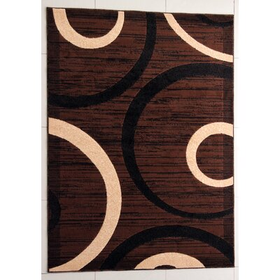 Pearsons Brown Area Rug Rug Size: 4 x 6