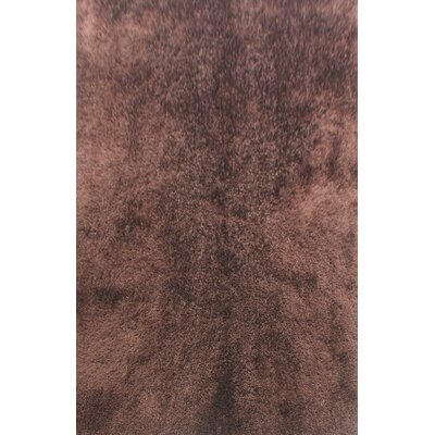 Dimont Brown Area Rug Rug Size: 53 x 72