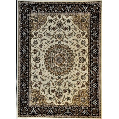 Pepperdine Ivory Area Rug Rug Size: Rectangle 711 x 910