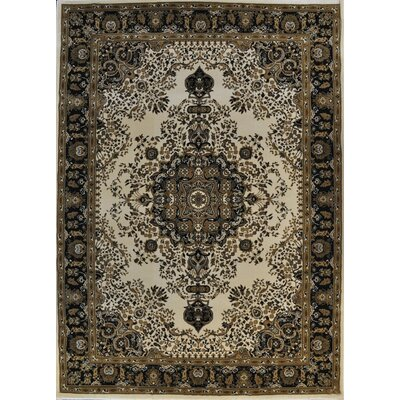 Paulson Ivory Area Rug Rug Size: Rectangle 53 x 72