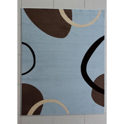 Tyrrel Blue Area Rug Rug Size: Runner 2 x 72