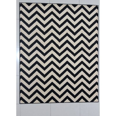 Hawker Black Area Rug Rug Size: Runner 2 x 72