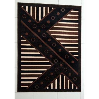 Florentine Black Area Rug Rug Size: 3 x 5