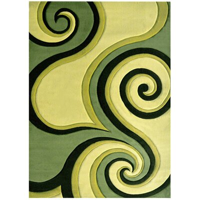 Hargreaves Sage Area Rug Rug Size: Rectangle 4' x 6'