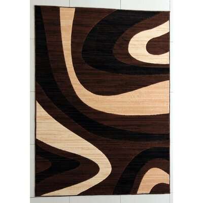 Griffin Brown Area Rug Rug Size: 3 x 5