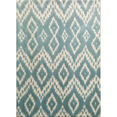 Dorida Turquoise Area Rug Rug Size: 53 x 72
