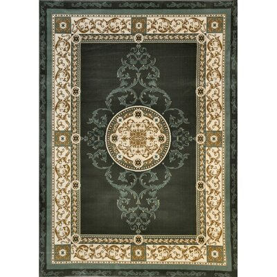 Lambeg Sage Area Rug Rug Size: Rectangle 53 x 72