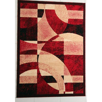 Brazile Red Area Rug Rug Size: Runner 2 x 72
