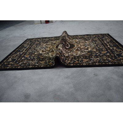 Mcelhannon Brown/Red Area Rug Rug Size: Rectangle 2 x 3