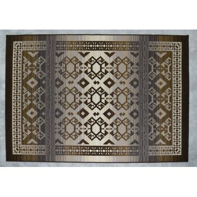 Athena Brown/Beige Area Rug Rug Size: Runner 27 x 146