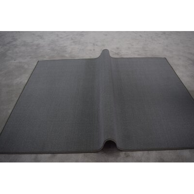 Elroy Wool Gray Area Rug Rug Size: Runner 27 x 72