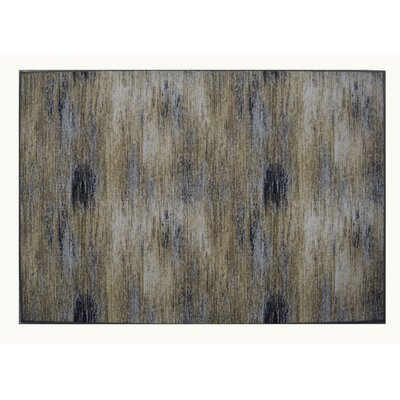 PJ Wool Gray/Beige Area Rug Rug Size: Rectangle 10 x 13