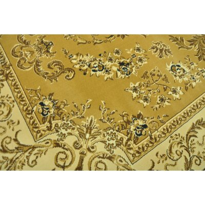 Charlenne Traditional Beige Area Rug Rug Size: 10 x 13